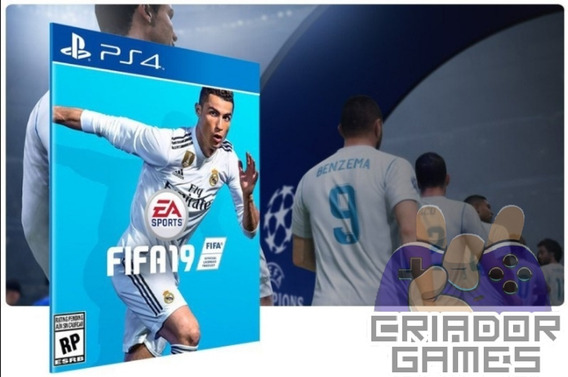 Fifa 19 Ps4 Digital Psn Vitalício Português