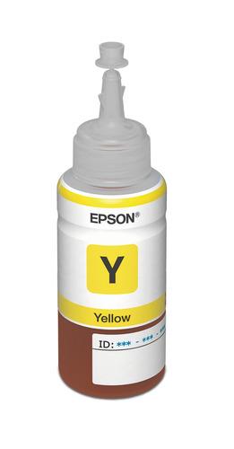 Botella De Tinta Epson 664 Amarillo T664420-al