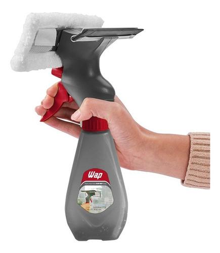 Rodo Limpa Vidros Wap Mop 3 Em 1 Spray E Reservatório 300ml