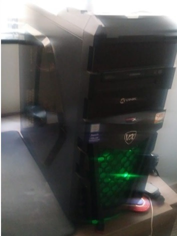 Computador Gamer Usado (se Pagar À Vista, Ganha Um Monitor)
