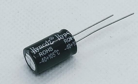Capacitor 1000uf X 25v Tamanho 10x17 Kit 500 Peças