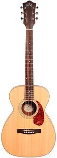 Guitarra Electroacústica Guild M-240e Nat C Funda Nueva Gtia