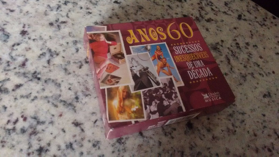 Box Anos 60 - Sucessos Inesquecíveis De Uma Década - 5 Cds