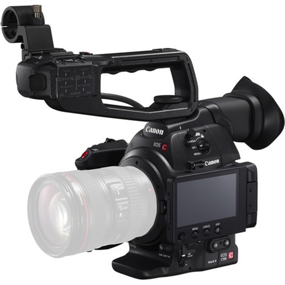 Câmera De Cinema Canon Eos C100 Mark Ii