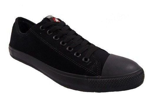 Tenis Super Star Basket Lona 46 Ao 50 Black De R$139,00 Por: