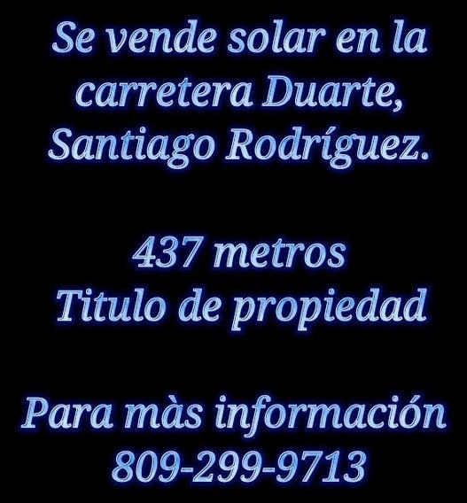 Solar Carretera Duarte