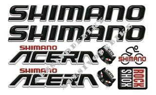 Adesivo Para Bicicleta Bike Shimano Frete Grátis