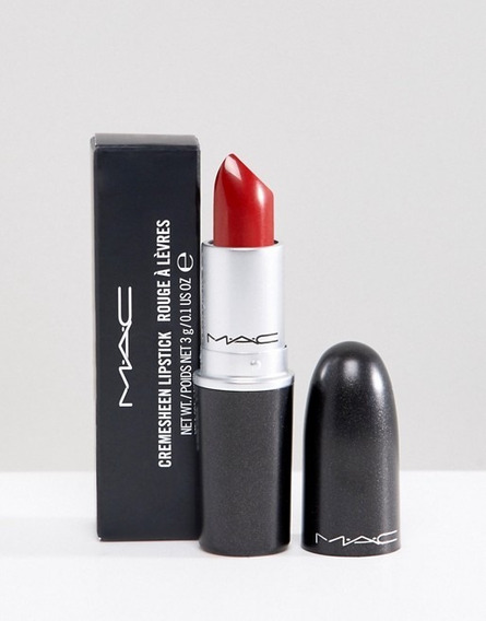 Labial Mac - Cremesheen (brave Red)