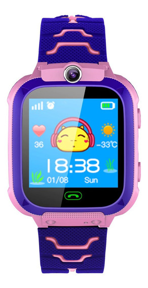 Relogio Infantil Rastreador Com Camera, Sos Smartwatch Kids