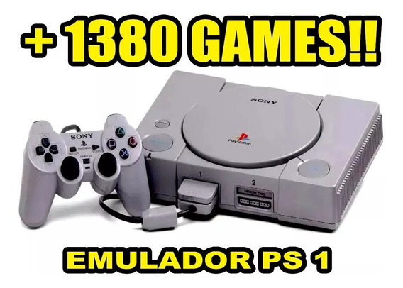 Emulador Ps1 Playstation One 1389jogos-via Download