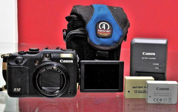 Canon Powershot G12 Perfeito Estado! Profissional Compacta