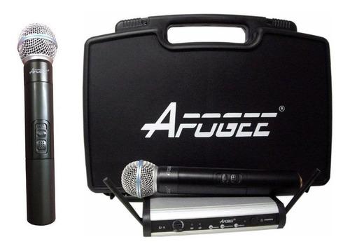 Micrófonos inalámbricos Apogee U2 dinámico  cardioide negros