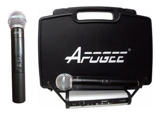 Micrófonos inalámbricos Apogee U2 cardioide negros