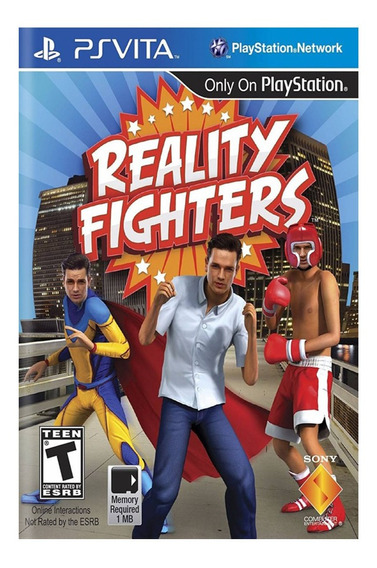 Jogo Reality Fighters Ps Vita Mídia Física Lacrado