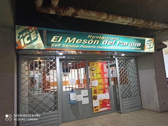 Restaurant En Alquiler En Parque Central/ Lv 04122104403