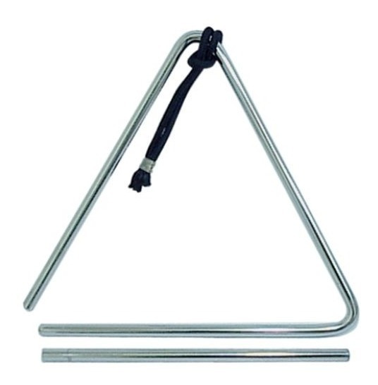 Triângulo Para Forró Baião Xote Profissional 25 Cm