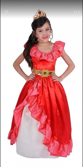 Disfraz De Princesa Elena Niña Talla 4 Y 6