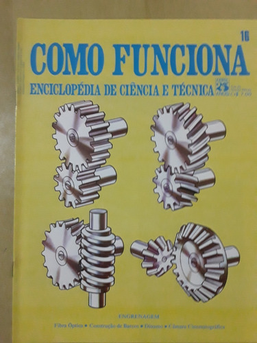 Pl163 Revista Fasc Como Funciona Nº16 Câmera Cinematográfica