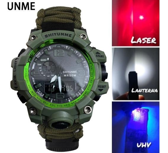 Relógio Da Sobrevivência Original Multifuncional