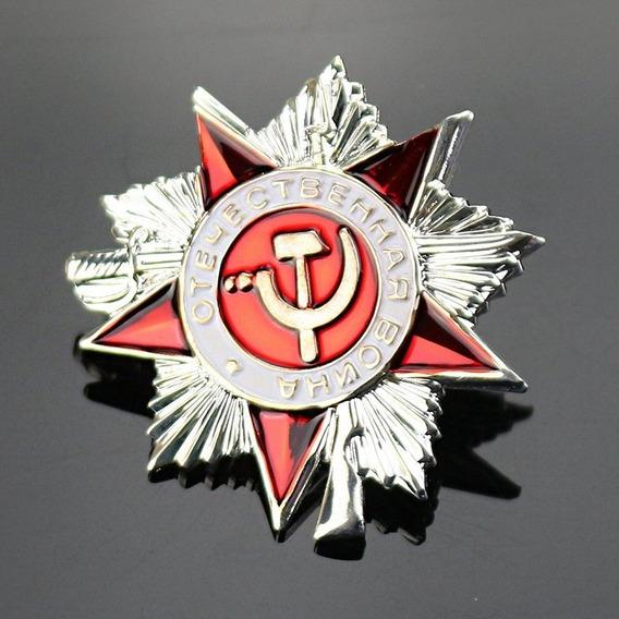 Pin Ruso Insignia Ejército Unión Soviética Cccp La Gran Guer