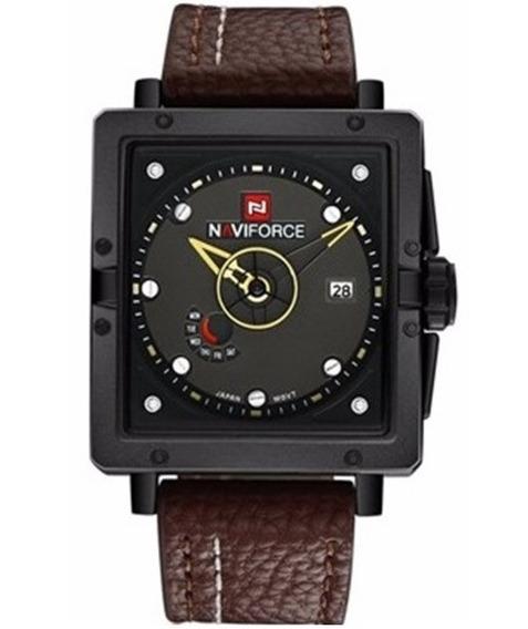Relógio De Pulso Masculino Original Naviforce 9065 +nfe