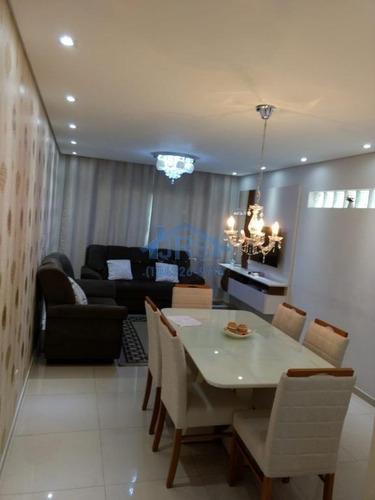 Imagem 1 de 28 de Sobrado Com 3 Dormitórios À Venda, 266 M² Por R$ 800.000,00 - Jardim Dos Camargos - Barueri/sp - So0023