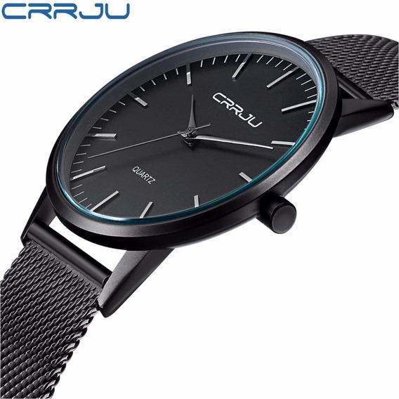 Relógio Em Aço Importado Masculino De Luxo - Frete Grátis