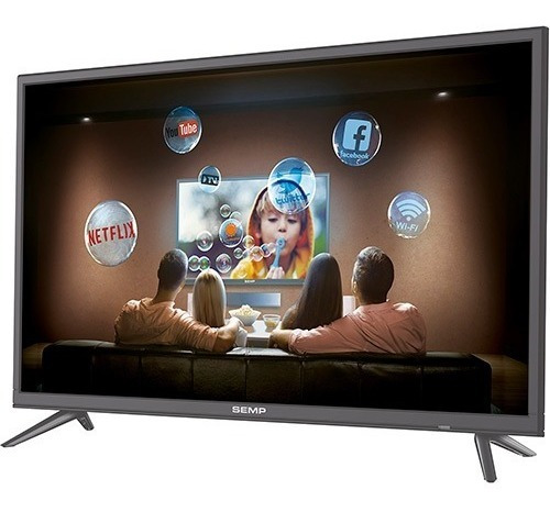 Smart Tv Led 39 Semp Full Hd Com Conversor Digital