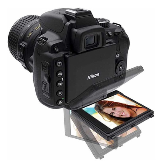 Nikon D5000 Lente 18-55