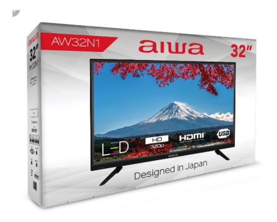 Tv Televisor 32 Hd Aiwa Led 4 Meses De Garantía. Japan