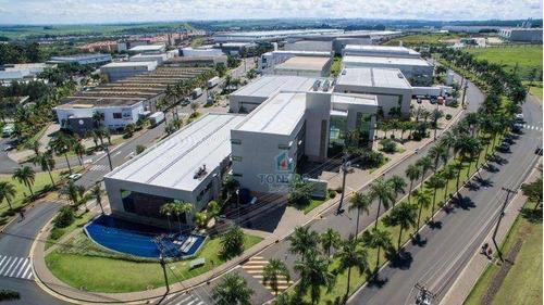 Galpão Modular Para Locação, Condomínio Fechado, Techno Park, Campinas. - Ga0106