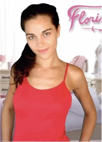 Camiseta Bretel Fino Florincella Algodón Y Lycra Art.139