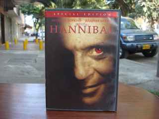Hannibal (2001) Dvd, Pelicula, Original, Bluray, Terror, Vhs