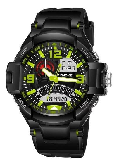 Relógio Sport Militar Synoke Adulto