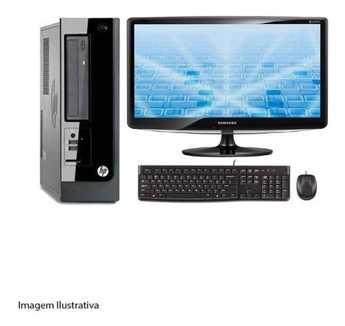 Computador Desktop Hp Pro 3410 I5  8gb 500hd Monitor 19