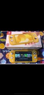 Nintendo Switch Lite Con 10 Juegos