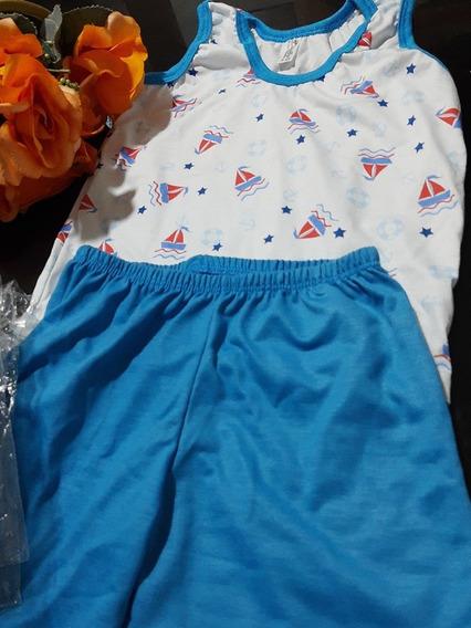 Pijamas Infantil Masculino Marinheiro