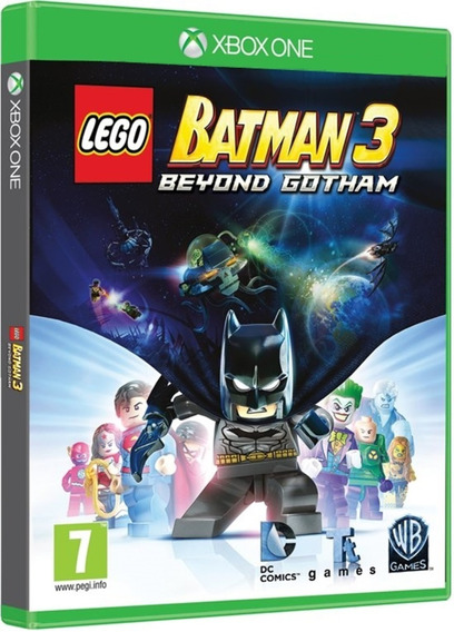Jogo Lego Batman 3 Beyond Gotham Xbox One Disco Físico Novo