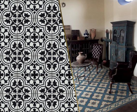 Mosaico Hidráulico, Mosaico Artesanal
