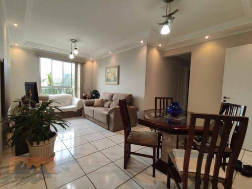 Apartamento Com 3 Dormitórios À Venda, 80 M² Por R$ 450.000,00 - Jardim Santa Genebra - Campinas/sp - Ap0135