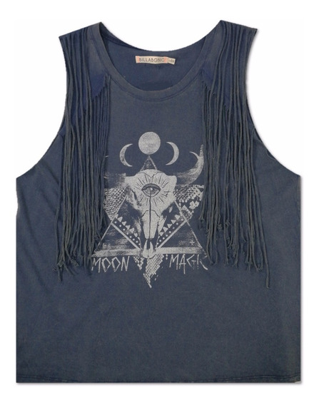 Hemosa Remera Billabong Moonlover !! 12161728 Cgr
