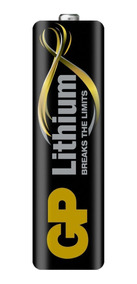 Pilha Aa Lithium Gp Até 10x Mais ( 2pçs )