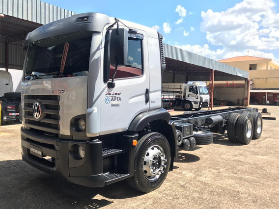 Vw 24280 2013 Chassi 6x2