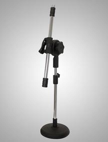 Pedestal Microfone De Mesa Girafinha Ps-3g Ps3g Ps 3g Visao
