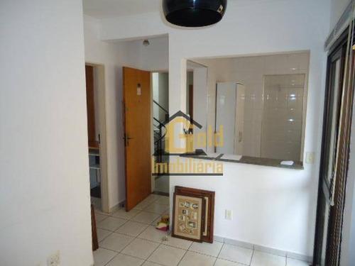 Apartamento Com 1 Dormitório, 40 M² - Venda Por R$ 172.000,00 Ou Aluguel Por R$ 1.000,00/mês - Vila Ana Maria - Ribeirão Preto/sp - Ap1502