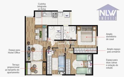 Apartamento Com 3 Dormitórios À Venda, 60 M² Por R$ 469.200,00 - Vila Matilde - São Paulo/sp - Ap0041