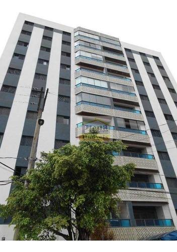 Imagem 1 de 30 de Apartamento Com 3 Dormitórios À Venda, 112 M² Por R$ 530.000 - Centro - Sumaré/sp - Ap0910