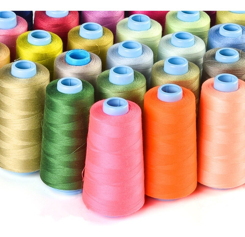 Hilo Polyester Coselo 402 Cono 2000 Yds Pack 2 Unids.