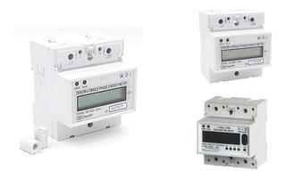 Wattorimetro O Medidor Digital Digital 220 Volts, 2 Fases