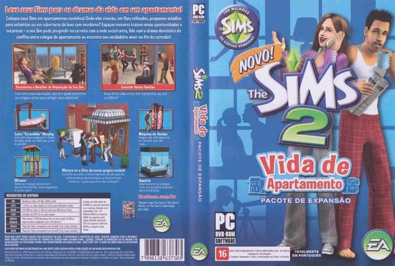 Jogo Pc The Sims 2 Vida De Apartamento - Pacote De Expansão